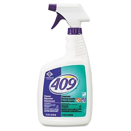 Commerical Solution 409 Disinfectant Degreaser Cleaner, 12 Case - 32 Ounce