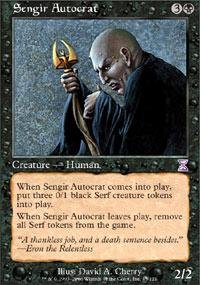 Magic: the Gathering - Sengir Autocrat - Timeshifted - Foil