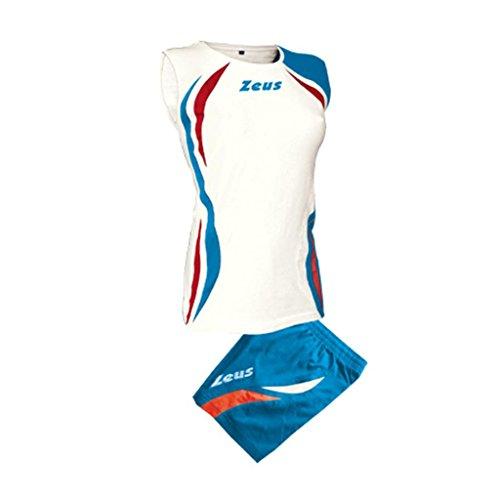 Zeus Blanc Equipement Bleu Maillot Volley Royal Rouge Short Klima qvq1rZ