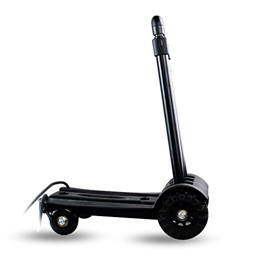 Carretilla de mano plegable, Utilidad de construcción sólida en las 4 ruedas para trabajo, arte Compacto y liviano para...