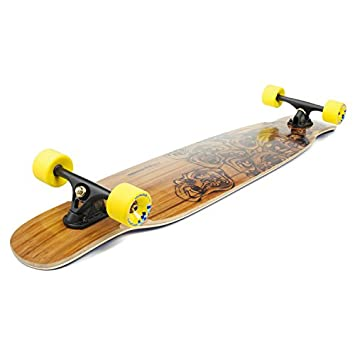 Loaded Boards Bhangra Bamboo Longboard Skateboard Complete