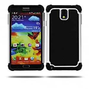 Silicone Football Pattern Protective Case For Samsung Note 3 N9000 --- Color:Purple -Big Paw Trading