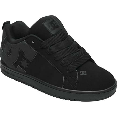 dc-court-graffik-mens-shoes-sports-wear-footwear-black-black-black-size-9-d