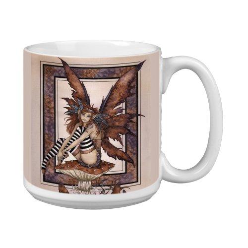 (Tree-Free Greetings XM27553 Amy Brown Artful Jumbo Mug, 20-Ounce, Fantasy Naughty Faery)