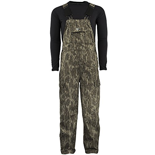 Cheapest Prices! Mossy Oak Men's Cotton Mill Uninsulated Hunting Bib Overalls in Multiple Camo Patterns