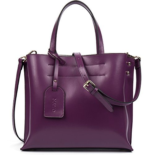 NAWO Leather Designer Handbags Clutch Purse Tote Shoulder Cross Body Bag for Women Purple on - Sunglasses Luxury Replica