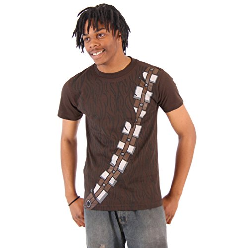 Star Wars I am Chewbacca Costume Adult Brown T-Shirt (XX-Large)