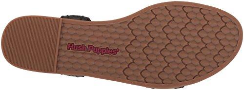 Hush Women's T Sandals Dalmatian Puppies Black Black Bar 11Rrqzw