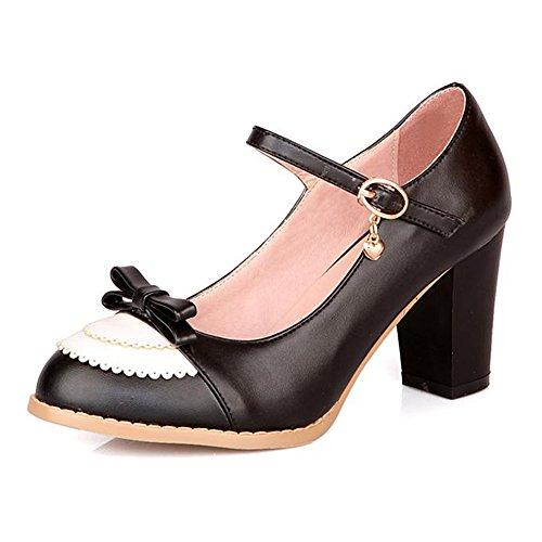 La Piattaforma Di Moda Delle Donne Di Getmorebeauty Pompa Le Scarpe Di Vestito Le Scarpe Da Sposa Sexy Del Tacco Alto Nere