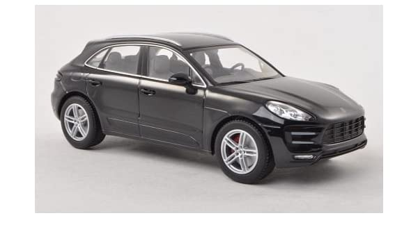 Amazon Com Porsche Macan Turbo Black 2013 Model Car Ready Made I Minichamps 1 43 I Minichamps Toys Games