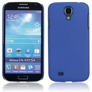 Plastic and Matte Hard Protective Case for Samsung S4 i9500 Deep Blue
