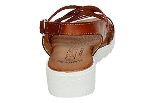 Spain In lbe Mujer Tiras Made Sandalias 105 Sandalia Piel Cuero Tg5qxxRnd