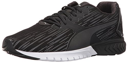 PUMA Men's Ignite Dual Nightcat Cross-Trainer Shoe, Puma Black, 13 M US