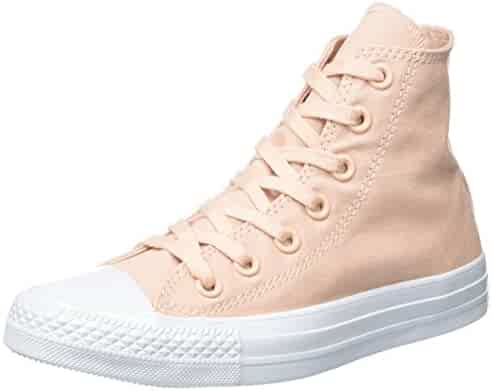 76a5d8d13f8fce Converse Unisex Adults  Chuck Taylor All Star Hi-Top Slippers Pink Size  8