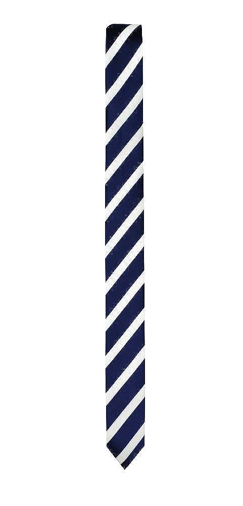 Black n Bianco Boys Signature Slim Colored /& Patterned Neck Ties Handmade