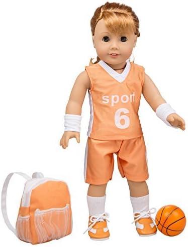 Amazon.com: Disfraz de uniforme de baloncesto para niñas ...