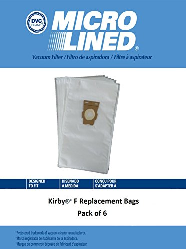DVC Created Kirby* All Generation Vacuum Bags. Replacement Kirby Universal Vacuum Bags, Kirby Part # 204808. Pack of (Kirby Part Number)