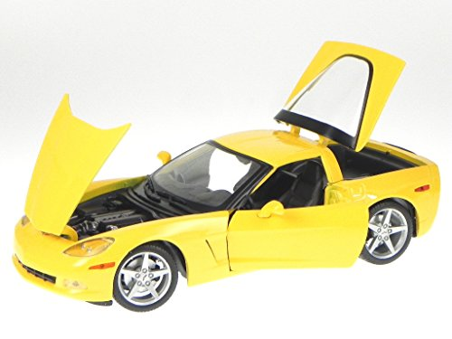 2005 Chevrolet Corvette C6 Coupe (Maisto - Chevrolet Corvette Coupe C6 (2005, 1:18, Metallic Blue))