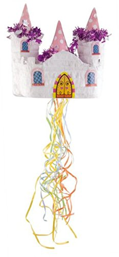 P 'tit Clown 82330 Pinata Princess Castle 28 X 29 X 16 cm, Multicoloured