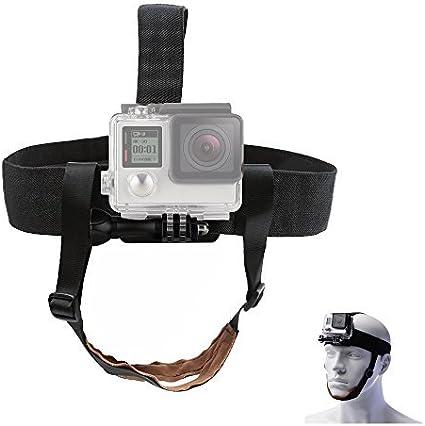 TEKCAM Wearing Headband Belt Mount with Screw Compatible for Gopro Hero 7 6
