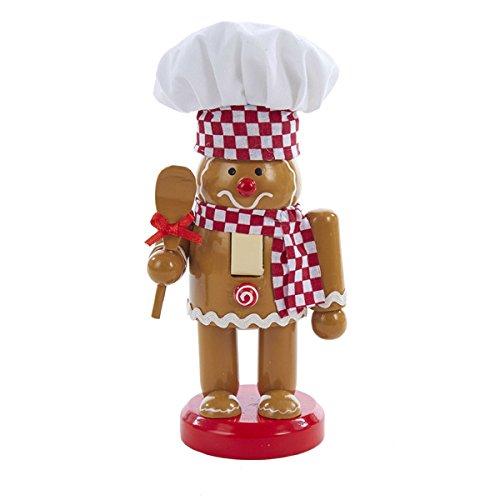 Baker Nutcracker (Kurt Adler 7-Inch Wooden Gingerbread Nutcracker Chef)