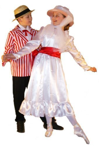 Vintage Style Children's Clothing: Girls, Boys, Baby, Toddler Poppins JOLLY HOLIDAY Childs Fancy Dress Costume - All Ages $48.00 AT vintagedancer.com