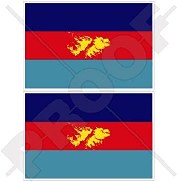 Sticker decal vinyl decals national flag car ensign bumper iceland island