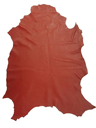 Reed© Lamb Skin Leather Hides - Premium Buttery Soft Touch Skin (RED)