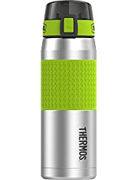 Thermos 24 Ounce Stainless Steel Hydration Bottle, Lime...