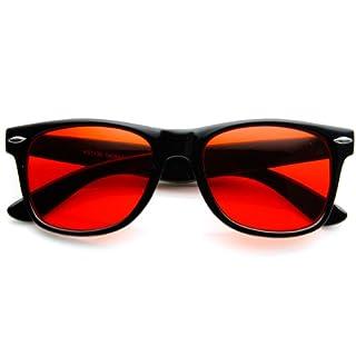 zeroUV - Rare Color Tinted Lens Classic Horn Rimmed Sunglasses (B01LXI3U0D)   Amazon price tracker / tracking, Amazon price history charts, Amazon price watches, Amazon price drop alerts