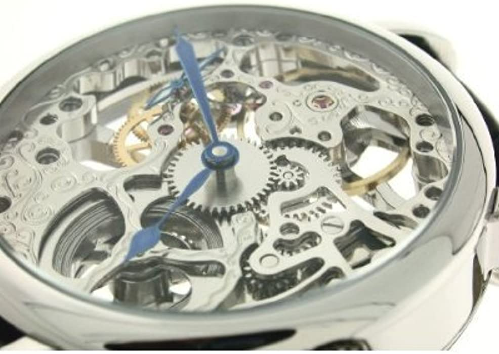 Hand Wind Decorated Skeleton Movement Watch RMS33S