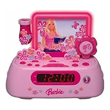 Amazon.com: Barbie Story Teller bar805 Radio Despertador con ...