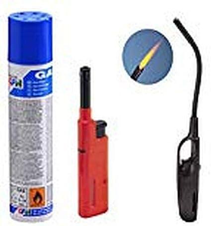 3 unidades Recambio Gas Butano, Gas Cigarrillos Turbo, Gas Cigarrillos Mini (Mechero)