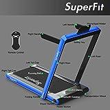 Goplus 2 in 1 Folding Treadmill, 2.25HP Under