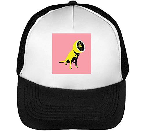 Blanco Beisbol Lemon Head Snapback Gorras Negro Epic Hombre yHRH4czg