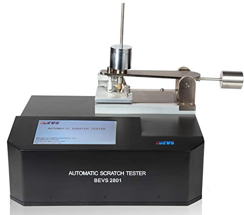 Automatic Scratch Tester BEVS2801 - Touch Screen, with Tungsten Carbide Hemispherical Stylus & 2 Kg Weight by TestCoat (Stylus Tungsten Metal)