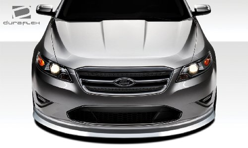 Duraflex Replacement for 2010-2012 Ford Taurus Racer Front Lip Under Spoiler Air Dam - 1 Piece