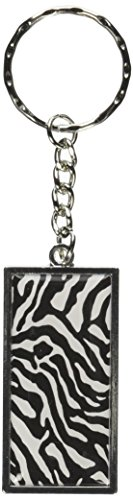 Graphics More Zebra Keychain K0837