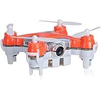 CX10C Mini 2.4G 4CH 6 Axis Gyro RC Quadcopter with 0.3MP Camera (ORANGE)