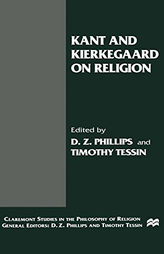 Kant and Kierkegaard on Religion (Claremont Studies in the Philosophy of Religion)