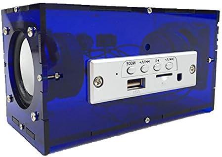 Durchsichtig Diy Kit Musik Verstärker Elektronik Mini Lautsprecher