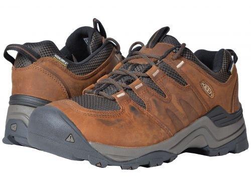 Keen(キーン) メンズ 男性用 シューズ 靴 スニーカー 運動靴 Gypsum II Waterproof - Grand Canyon/Dark Earth [並行輸入品] B07BLVWXVG
