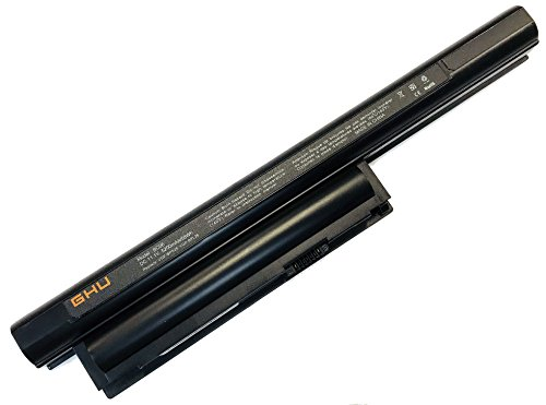 New GHU Battery 58 WH Replacement for VGP-BPS26 VGP-BPS26A VGP-BPL26 Compatible for Selected Sony Vaio Laptop Notebook 1 Year Warranty (Sony Notebook Laptop Vaio)
