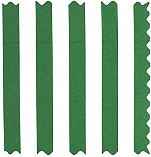 product image for SheetWorld 100% Cotton Percale Fabric by The Yard, Forest Green Stripe, 36 x 44