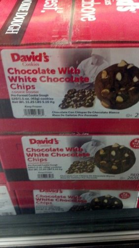 David's Cookies: Chocolate with White Chocolate Chip Cookie Dough 120/1.5 Oz by David's Cookies