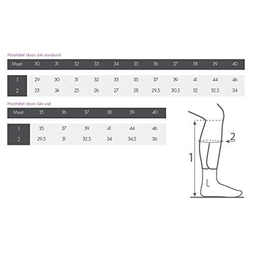 QHP Leder-Reitstiefel Jildou spez. für Kinder braun normale Wadenweite Gr. 40