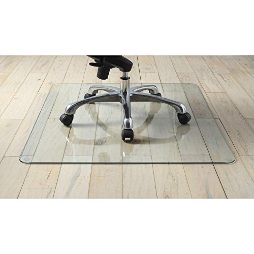 Lorell Tempered Glass Chair Mat (82833) by Lorell (Image #1)