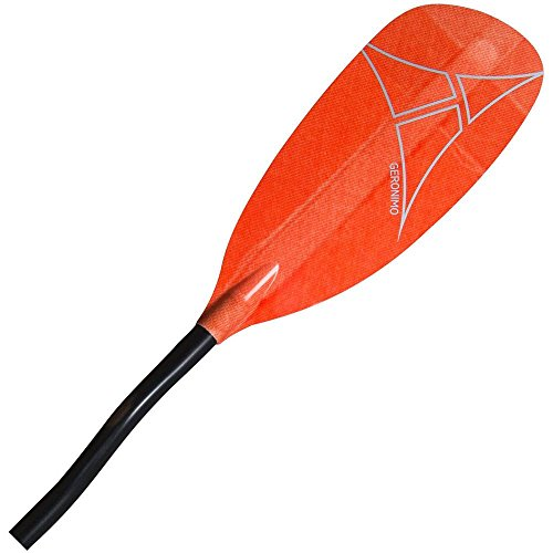 Adventure Technology at Geronimo Glass Bent Whitewater Kayak Paddle, 197cm/One Size, ()