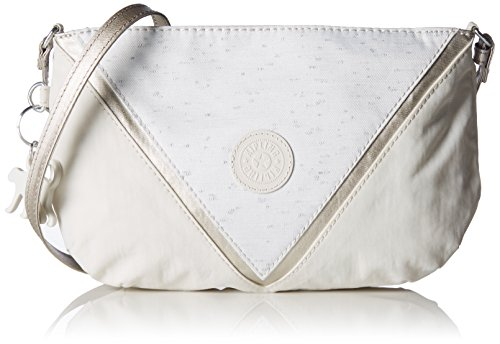 Kipling Womens Party Bpc Shoulder Bag White (Winter White)