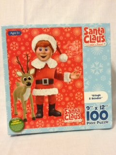Santa Claus Is Comin To Town 100 Piece Jigsaw Puzzle   One   Image Varies By Karmen International